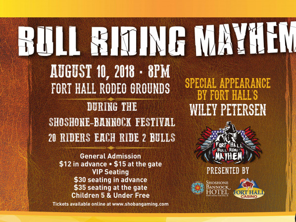 Bull Riding Mayhem tickets - Fort Hall Casino