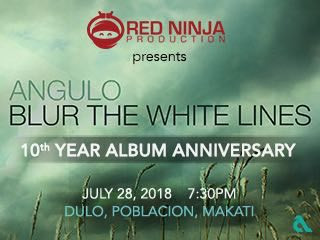 """""""Blur The White Lines"""" 10th Anniversary tickets - Red Ninja Productions"""