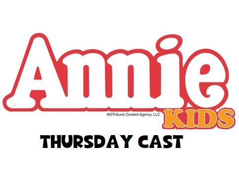 Annie KIDS (K-4th grade. THURS CAST) tickets - Spotlight