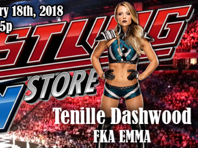 Meet Former Tenille Dashwood fka Emma Event tickets - The Wrestling Guy