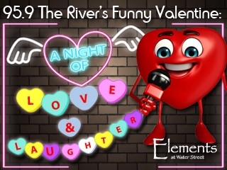 95.9 The River's Funny Valentine Event tickets - Doodle Productions