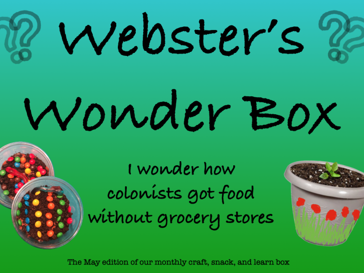 Webster's Wonder Box - Farming