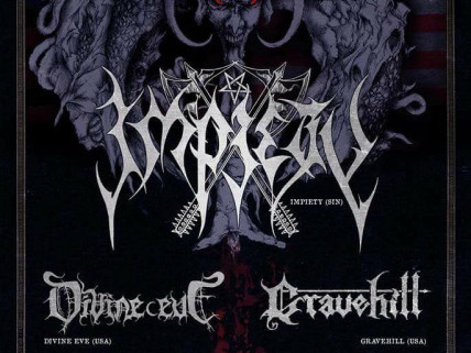 Impiety/Divine Eve/Gravehill tickets - Twilight Cafe and Bar