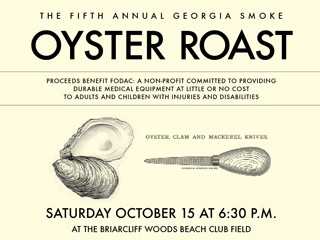 Fifth Annual Georgia Smoke Oyster Roast Event tickets - FODAC