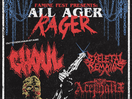 ALL AGER RAGER-Ghoul/Skeletal Remains tickets - Twilight Cafe and Bar