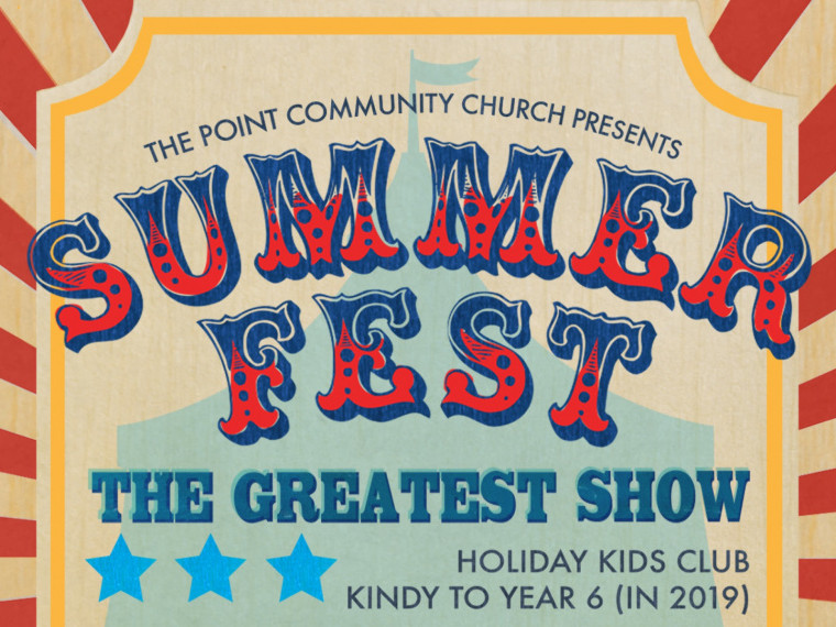 Summerfest 2019 - The Greatest Show Event tickets - admin@tpcc.org.au