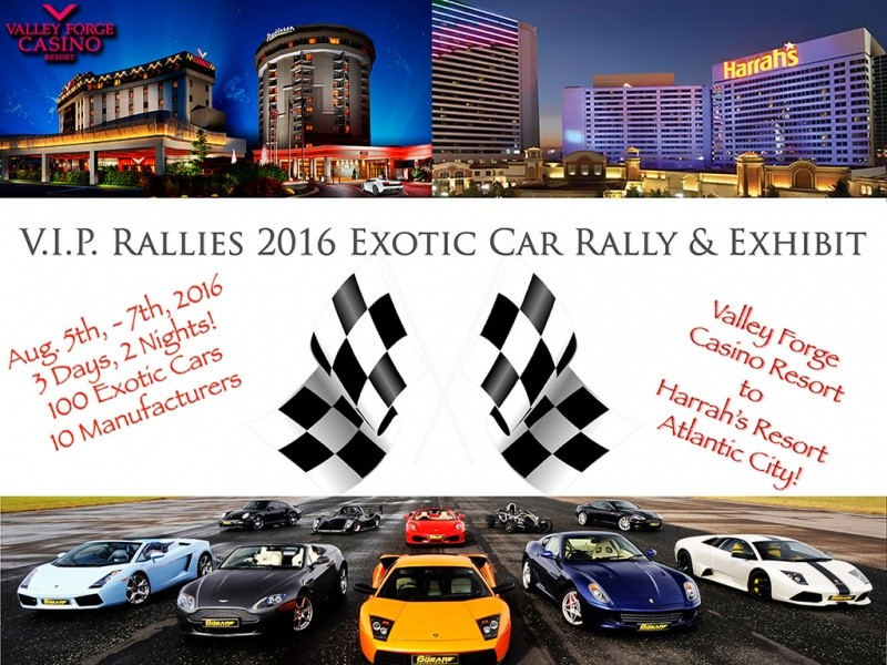 2016 VFCR/ Harrah's Rally Entrance Fees Event tickets - VIP Rallies