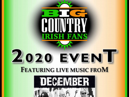 Big Country Irish Fans Event tickets - Dolans pub