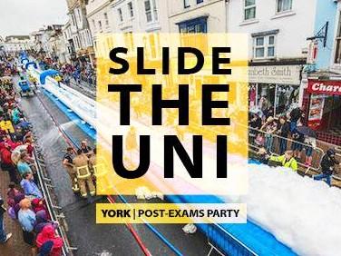 Slide the Uni, York Event tickets - UYBC