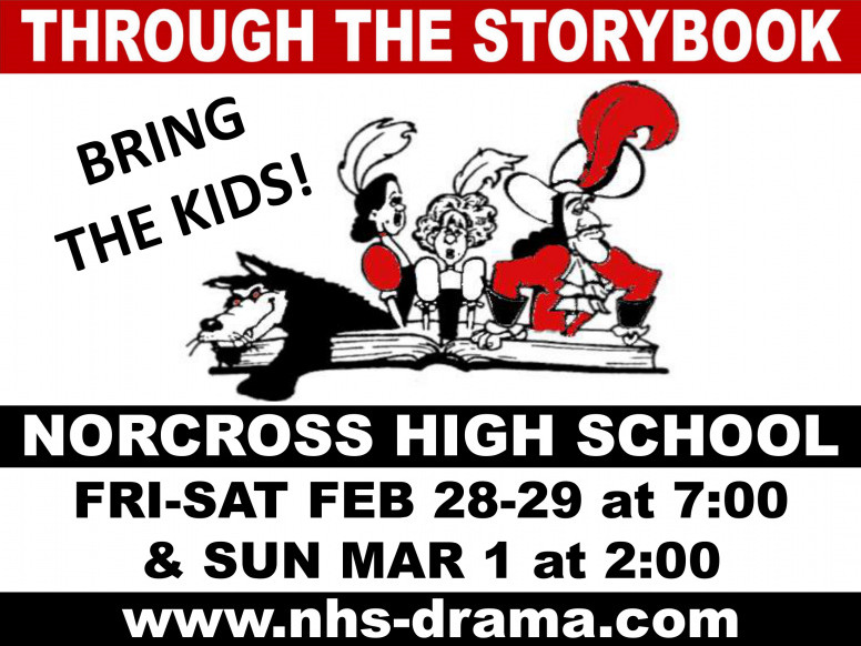 NHS Drama presents THROUGH THE STORYBOOK