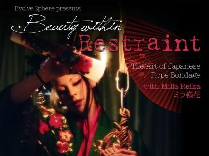 Beauty within Restraint Shibari workshop Event tickets - Evolve Sphere