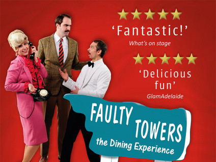 Faulty Towers the Dining Experience Event tickets - Dolans pub