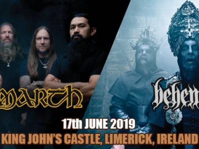 Amon Amarth & Behemoth tickets - Dolans pub