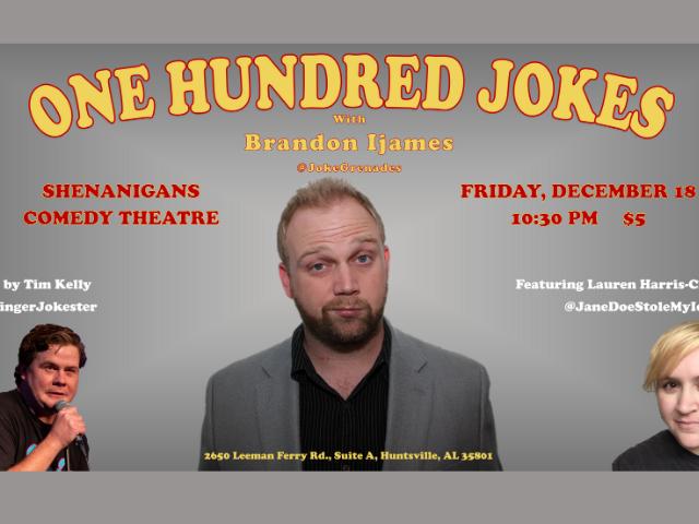 One Hundred Jokes with Brandon Ijames