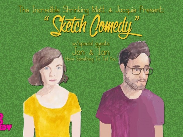 The Incredible Shrinking Matt & Jacquie Event tickets - Good Good Comedy Theatre