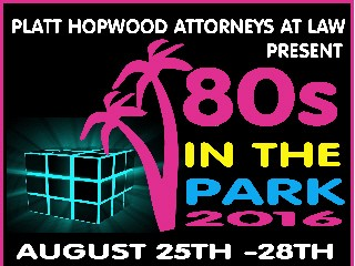 80s in the Park 2016 Event tickets - 80sinthepark