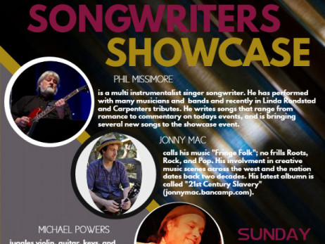Songwriters Showcase tickets - The Open Book