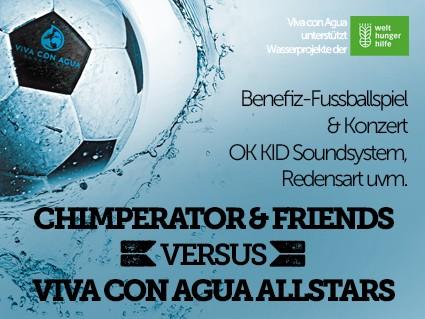 Benefizkick Event tickets - Viva con Agua München