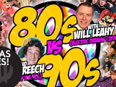80s v 90s with Will Leahy and DJ Screech tickets - Dolans pub