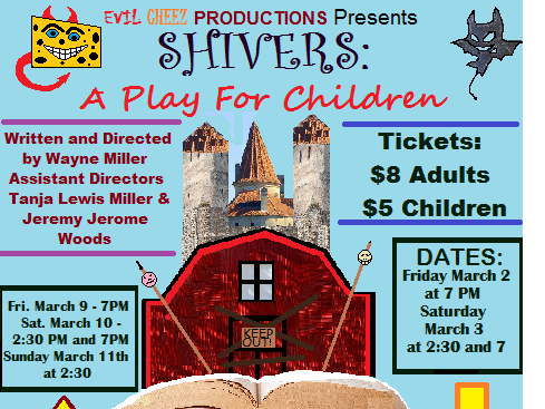 Shivers- A Play for Children tickets - Playhouse