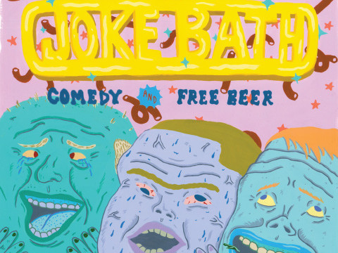 Joke Bath: Comedy + Free Beer tickets - Good Good Comedy Theatre