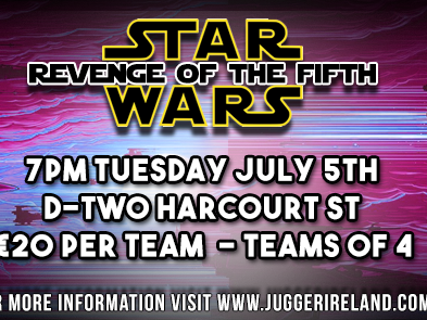 Star Wars Quiz: Revenge of the Fifth Event tickets - Rampage Jugger Club