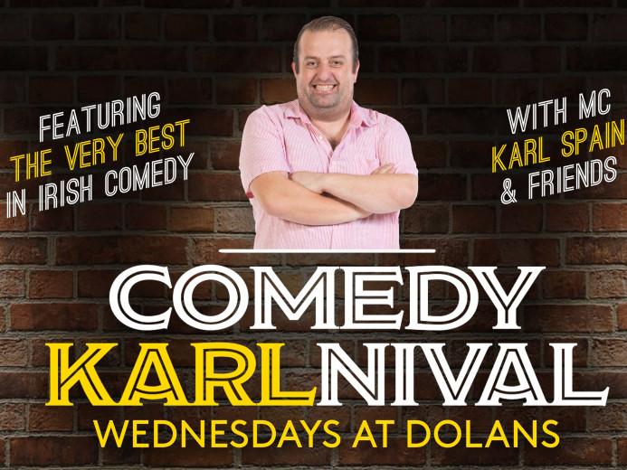 Karlnival Comedy Club tickets - Dolans pub