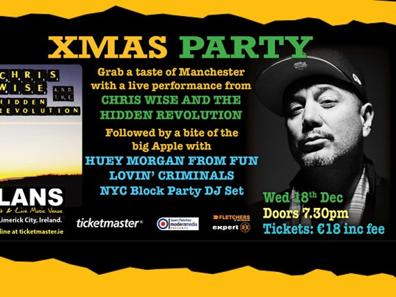 Huey Morgan NYC Block Party tickets - Dolans pub