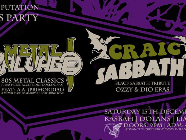 Metal Salvage / Craic Sabbath - Bad Rep Event tickets - Dolans pub