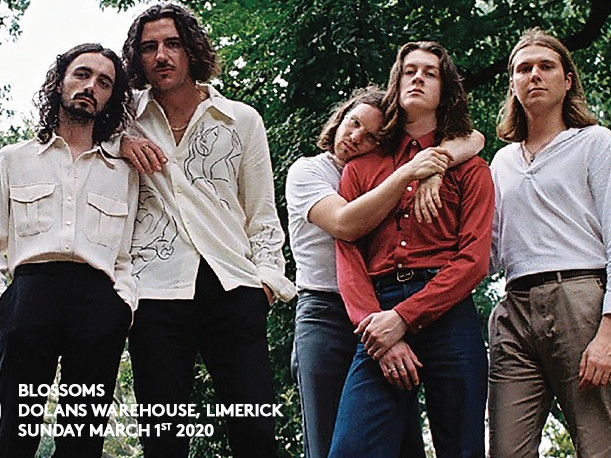 Blossoms tickets - Dolans pub