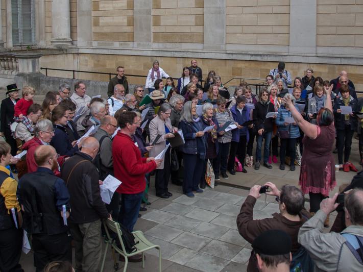 Folk Weekend 2020 Festival Choir!