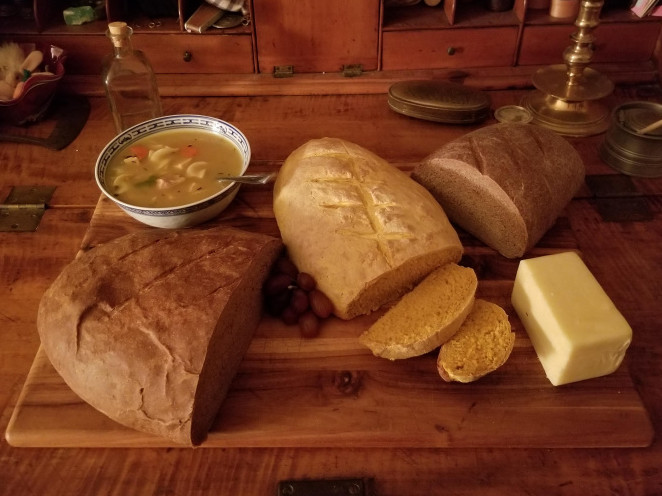 Hearth Cooking: Bread & Soups