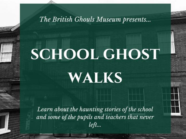 School Ghost Walk Event tickets - British Schools Museum