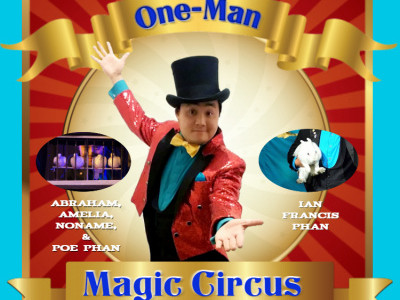 Naathan Phan's One-Man Magic Circus Event tickets - Naathan Phan