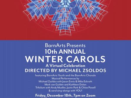 Virtual Winter Carols 2020 Event tickets - BarnArts Center for the Arts