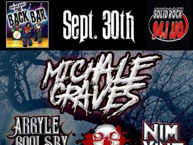Michale Graves (EX-Misfits) w/ OUTDrejas Event tickets - OUTDrejas