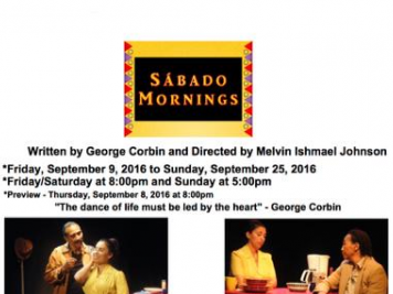 Stage Play: Sabado Mornings Event tickets - Black Theater