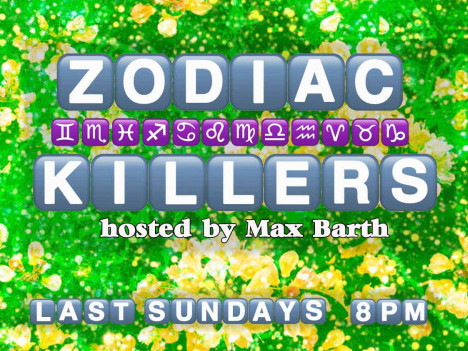 Zodiac Killers Event tickets - Good Good Comedy Theatre
