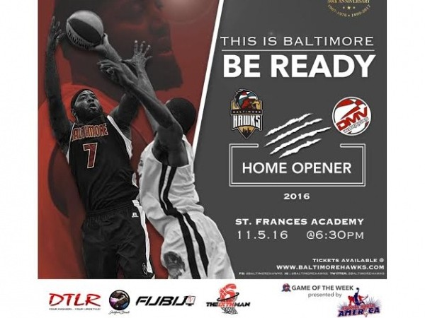 Hawks vs DMV Warriors | 2016 Home Opener Event tickets - Baltimore Hawks