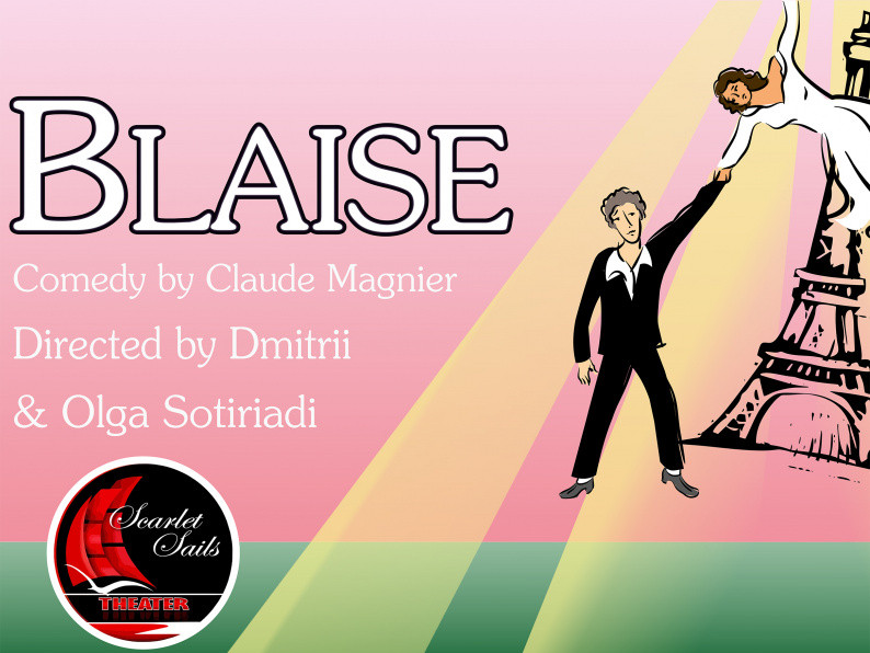 "Copy of Comedy ""Blaise"" tickets - Scarlet Sails Theater"