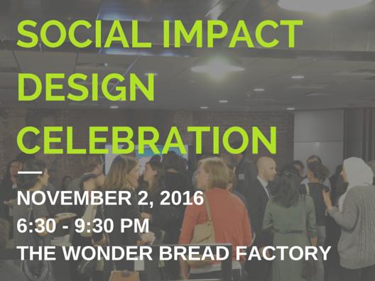 Social Impact Design Celebration Event tickets - Inscape Publico