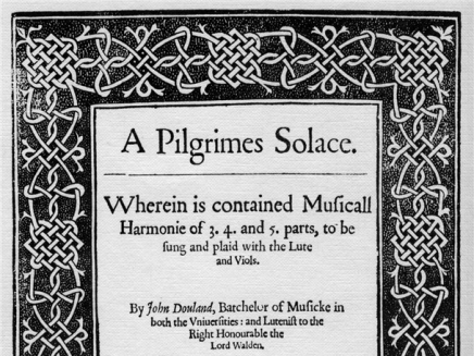 A Pilgrimes Solace by John Dowland