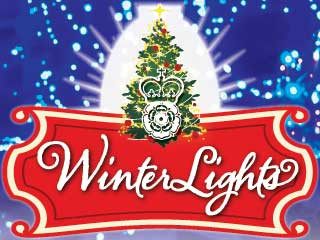 WinterLights Event tickets - Elizabethan Gardens