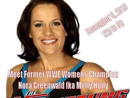 Meet Former WWE Superstar Nora Greenwald Event tickets - The Wrestling Guy