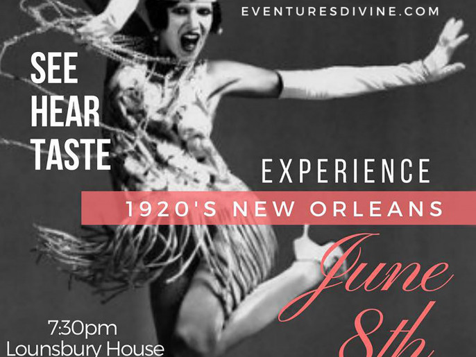 A Night in New Orleans Event tickets - Eventures Divine