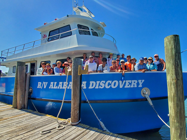 Boat Excursions at the Alabama Aquarium