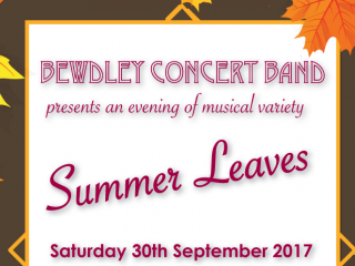 Summer Leaves Event tickets - Bewdley Concert Band