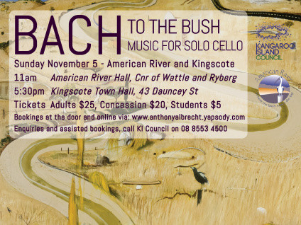 Bach to the Bush - American River Event tickets - Anthony Albrecht