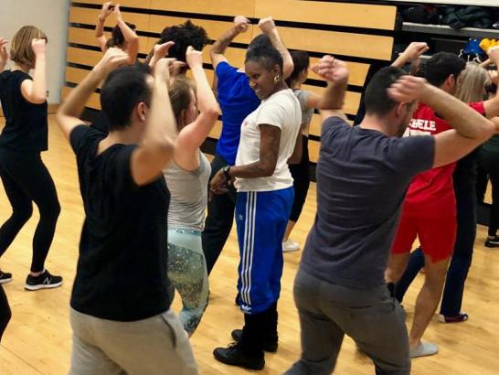 Authentic Afro-Cuban dance classes