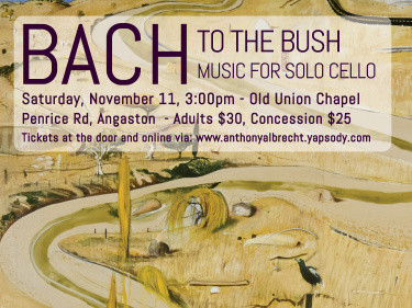 Bach to the Bush - Barossa Event tickets - Anthony Albrecht